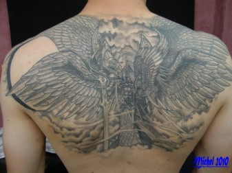 Tattoo Dos Homme