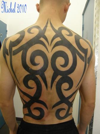 Tattoo Man S Back