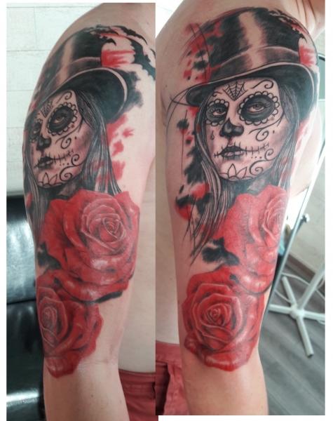 Tattoo bras homme - Tattoo rose bras ...