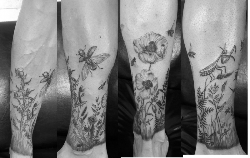 TATTOO : Jambes homme