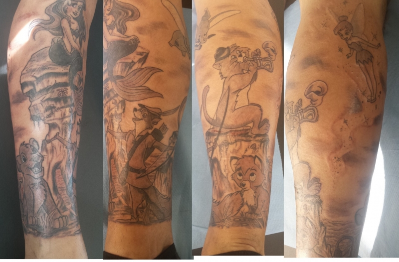 Tattoo Jambes Homme
